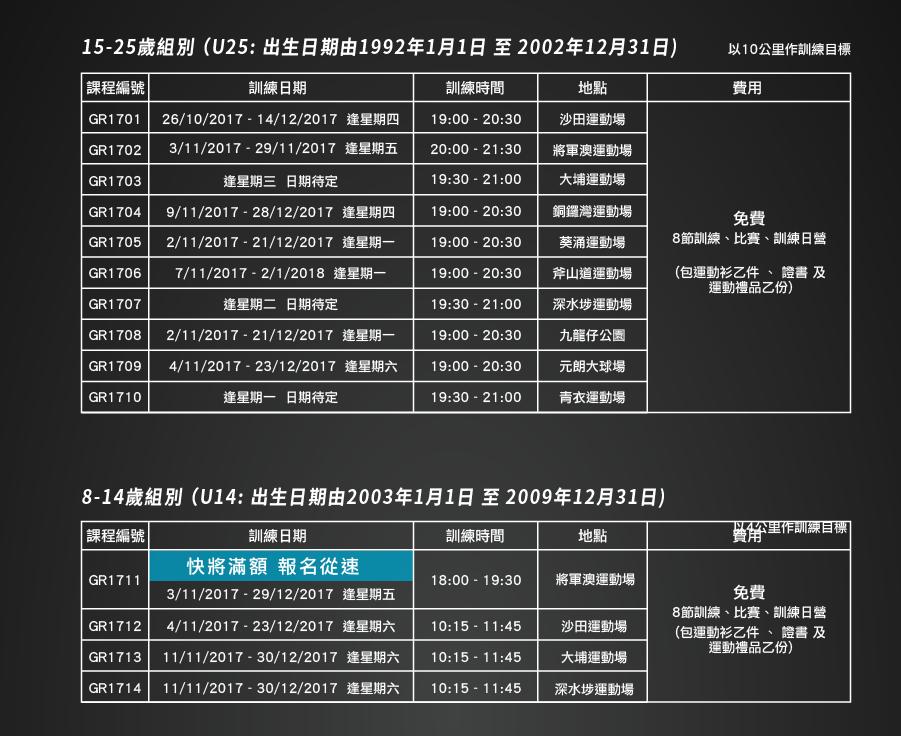 1718_Timetable_GroupRun